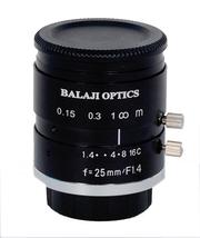 25mm machine vision camera lens--BALAJI OPTICS INDIA