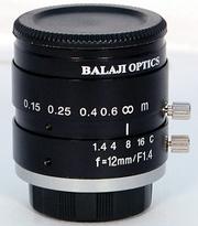 12 mm machine vision lenses (BMT-1412D) balaji optics in india