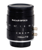 50 mm machine vision lenses (BMT-1850D) balaji optics in india