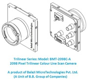 2098 Pixel CCD Monochrome Line Scan Camera