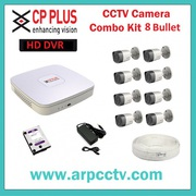 Combo Kit of Cp Plus 8ch Dvr Available In Ahmedabad,  Gujarat