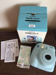 Instax Mini 8 Camera With Case Selfie 50 picies - Cameras for sale - C